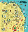 San Francisco & the Bay Area Visitor's Map
