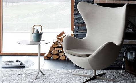 Designer Armchair by Arne Jacobsen Egg Chair Hivemodern