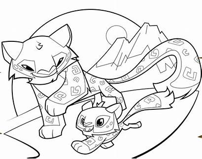Jam Coloring Animal Pages Leopard Snow Arctic
