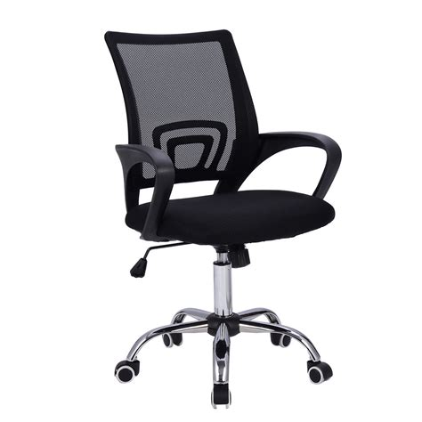 mid back desk chair modern mesh mid back office chair computer desk task
