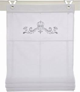 Raffrollo Mit Hakenaufhängung : raffrollo kutti kessy crown mit hakenaufh ngung online kaufen otto ~ Orissabook.com Haus und Dekorationen