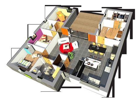 configurer cuisine source d 39 inspiration plan maison 4 chambres luxe design à la maison design à la maison
