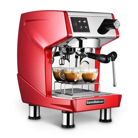Or, pack it along for trips where the coffee situation will be. 15bar Espresso Commercial Coffee Machine 220V Restaurant ...