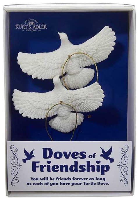 home   friendship turtle dove oranments