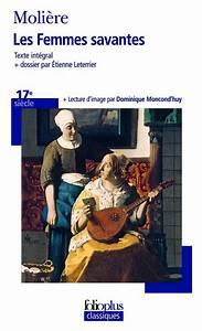 Livre: Les Femmes savantes Molière Folio Folioplus