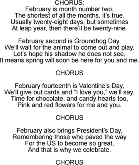 months of the year song for preschool february song for teaching about the months lyrics and 260