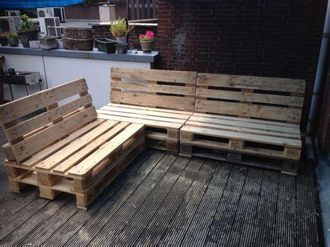 tuinbank van pallets loungebank van pallets makkelijk te maken veel