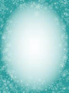 Snowflake Border Clip Art