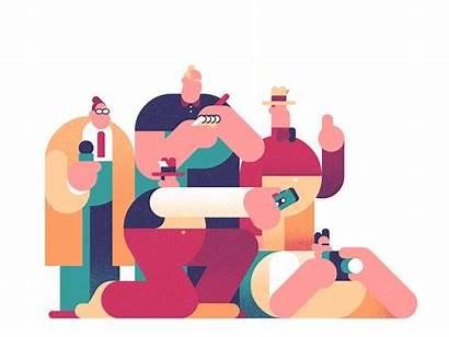 Robin Davey Illustration Journalism Animation Columbia Gifs