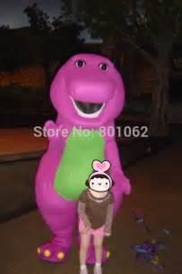 Barney Purple Dinosaur Costume
