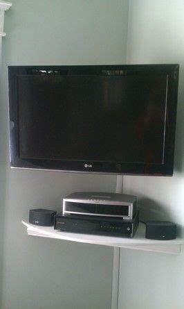 images  corner shelf tv stand  pinterest