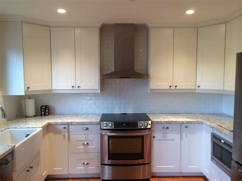 cabinet installer bc a refreshing ikea facelift for a canadian kitchen