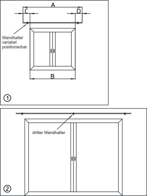 Gardinenstange Abstand Zur Decke by Wunderbare Gardinenstange Abstand Zur Decke Fuer Typ 45