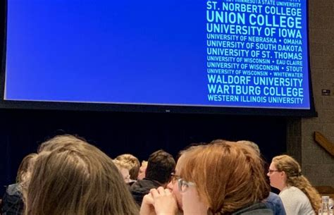 honors students faculty present upper midwest honors conference