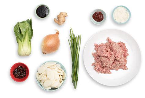 recipe korean tteok spicy pork ragu  baby bok