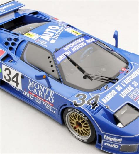 After the race bugatti eb 110 s/n 016 was completely repaired, but never fielded again. 1994 Bugatti EB110 Le Mans by Amalgam Collection (1:8 ...