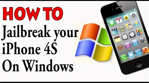 how to jailbreak iphone 4s windows how to jailbreak iphone 4s with absinthe How T
