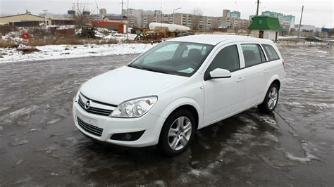 Opel Astra H by 2009 Opel Astra H Wagon Start Up Engine And In Depth