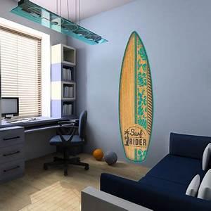 Planche Surf Deco : stickers planche surf aloha veut dire bonjour hawaii d corez la chambre de votre enfant ~ Teatrodelosmanantiales.com Idées de Décoration