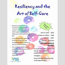 Victim Support Services  Continuing Education