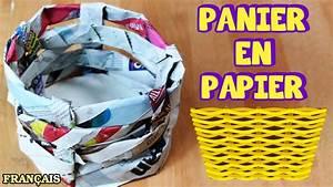 Bricolage Facile En Papier : bricolage facile comment faire panier en papier how to ~ Mglfilm.com Idées de Décoration