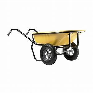 Roue Brouette Haemmerlin : brouette 2 roues gonfl es contenance 160 litres expert twin haemmerlin bricozor ~ Mglfilm.com Idées de Décoration