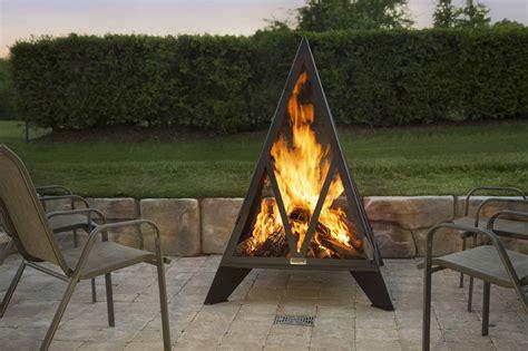iron embers pyramid fireplace safe home fireplace