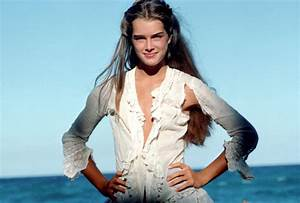 Spring Style Inspiration: Brooke Shields in Blue Lagoon ...