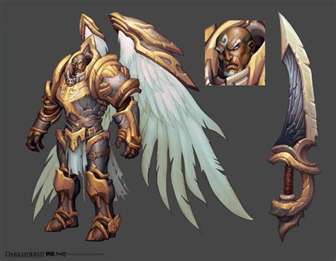 Darksiders Ii Concept Art By Avery Coleman Concept Art World