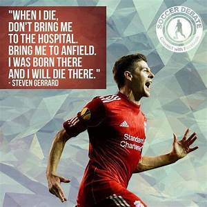 What are some o... Steven Gerrard Book Quotes