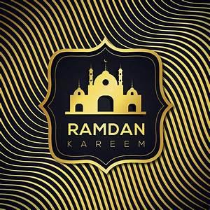 Ramadan, Islamic, Wavy, Golden, Line, Background, 1057455, Vector, Art, At, Vecteezy