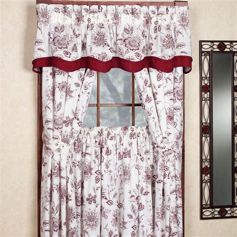 winston jacobean floral standard length window treatment