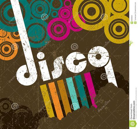 retro disco style stock photo image