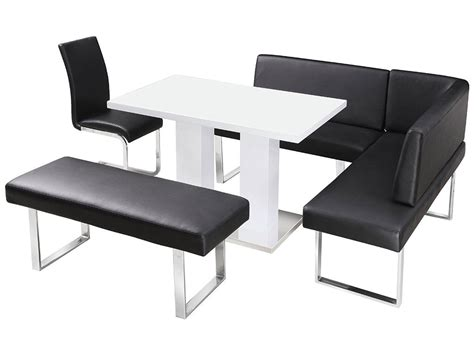 corner dining table with chairs high gloss dining table and chair set with corner bench