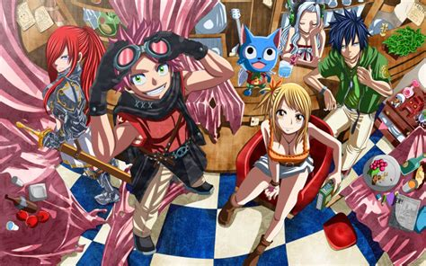 fairy tail season  release date trailer  images