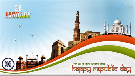 [26 Jan] India Republic Day Hd Images, Wallpapers, Free