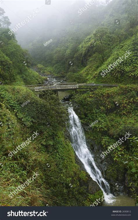 They are simply the best at. Waterfall On The Road To Hana, Hana Highway, Hawaii, Usa ...