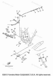 Yamaha Motorcycle 2003 Oem Parts Diagram For Stand