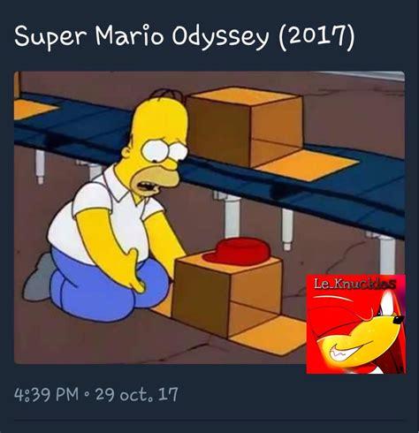 Mario Odyssey Memes - super mario odyssey meme subido por le knuckles memedroid