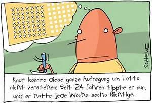 Lotto Wahrscheinlichkeit Berechnen Stochastik : lotto von josef schewe medien kultur cartoon toonpool ~ Themetempest.com Abrechnung