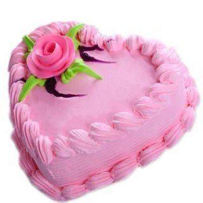 strawberry heart shaped cake ecakezone