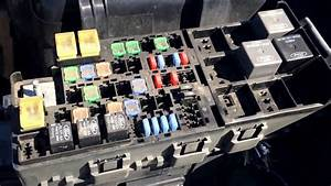 2009 Mercury Milan Fuse Box Location