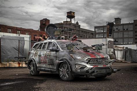 hyundai santa walking dead fe themed think zombie cars apocalypse creates its warranties known