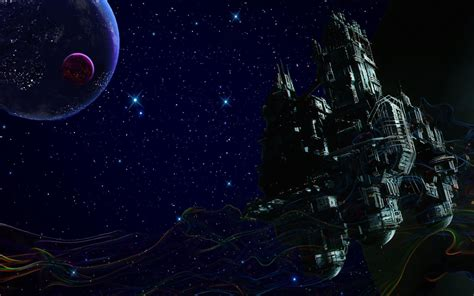 space trippy smoke stars spaceship hd wallpapers