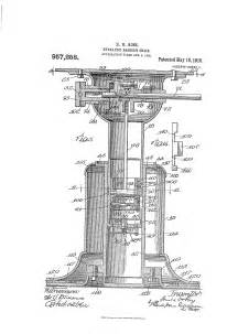 patent us957258 hydraulic barber s chair patents