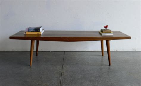 mid century modern coffee table for sale vintage mid century modern coffee table bench coffee