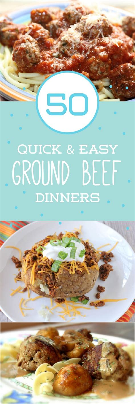 and easy ground beef dinner recipes 27 quick and easy ground beef dinners beef recipes weeknight meals and ground beef