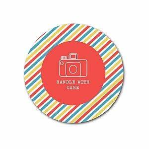 stripey sticker template With elit templates sticker