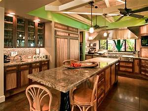 Hawaiian Cottage Style - Tropical - Kitchen - Hawaii - by