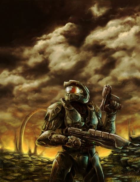 A Gallery Of Gorgeous Halo Fan Art